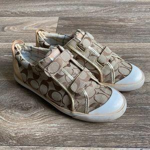 Coach Classic Britt Tennis Shoes Size 9